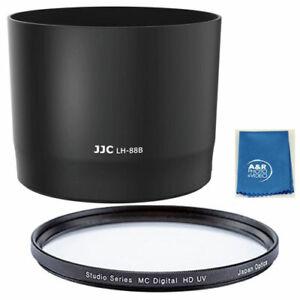 JJC LH-88B Lens hood fr Canon RF 600mm f/11 is STM Lens on EOS R6 R5 RP R ET-88B