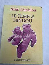 Le Temple Hindou Alain Danielou