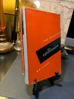 The Selected Apollinaire Writings - 1st Hardcover  RARE