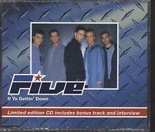 Five - If Ya Gettin Down CD (single)free post