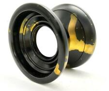 Acid Unresponsive Professional Trick String Magic YoYo Anodized Metal Gold Black