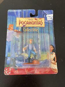 Mattel Disney's Pocahontas Collectibles - John Smith Slightly Distressed Box