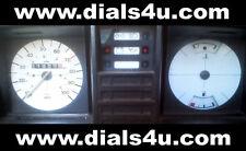 VOLKSWAGEN VW TRANSPORTER T3 / T25 Type 2 (1979-1990) - 100mph - WHITE DIAL KIT