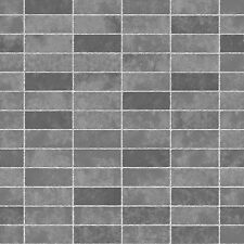 Ceramica Slate Tile Grey Kitchen and Bathroom Wallpaper FD40116