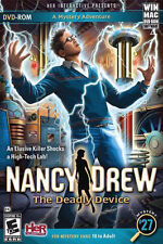 Nancy Drew: The Deadly Device (Windows/Mac, 2012) NEW