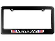 Military Veteran - American Flag License Plate Tag Frame