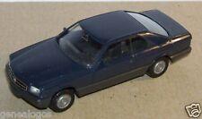 MICRO HERPA HO 1/86 1/87 BMW 560 SEC BLEU FONCE