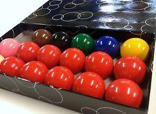SNOOKER BALLS *NEW SET* 1 & 7/8 inch  RRP $49.90  (Australian Seller)