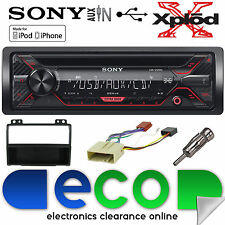 Ford Fusion 02-05 Sony CDX-G1200U CD MP3 Usb Aux In Iphone Coche Radio Stereo Kit