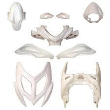 KIT 9 CARENE COMPLETO BIANCO LUCIDO ONE ORIGINAL PER YAMAHA AEROX 50 2013-2017