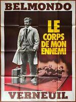 Plakat Le Corps De Mon Enemy Henri Verneuil Jean-Paul Belmondo 120x160cm B