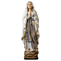 Statua Madonna di Lourdes Legno - Our Lady of Lourdes wood-carved