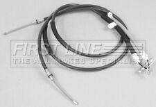 FORD FIESTA Mk4 1.6 Handbrake Cable Rear 00 to 02 Hand Brake Parking Firstline