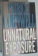 UNNATURAL EXPOSURE  Patricia Cornwell 1st ed 1997 Mystery Hardcover & Jacket