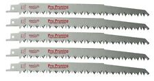 9 Inch Wood Pruning Reciprocating Saw Blades - 5 Pack