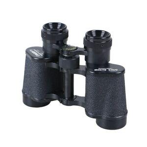8x30 HD Zoom Handheld Metal Binoculars Retro Telescope Eyepiece Monoculars props
