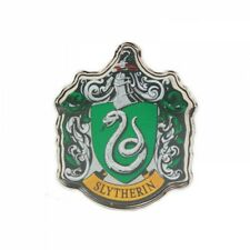 Genuine Warner Bros Harry Potter Slytherin Crest Hogwarts House Pin Badge Gift