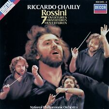 ROSSINI : 7 OVERTURES - NPO, CHAILLY / CD