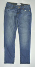 """PAIGE Jimmy Jimmy Skinny Jeans Aero Wiskered Wash 26 30"""" Length"""
