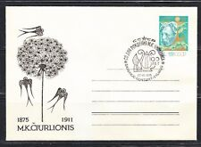 USSR 1975 musical cover M.K. Chuyrlenis, Lithuanian composer Local.Swallow