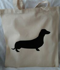 Tote Bag for sausage dog / dachshund  lovers gift idea
