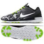 Nike Free 5.0 TR Fit 5 Print 704695-014 Black/White/Volt Women's Running Shoes