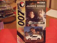 Corgi 99261 James Bond Spy who loved me White Lotus Sealed MOC 1:64 scale NEW