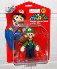 "2008 Official Nintendo Super Mario Bros. Luigi 5"" Action Figure Collection POPCO"