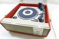 Alba Vintage BSR Portable Turntable Built in speakers needs service