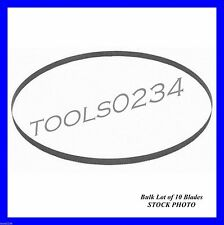 "Milwaukee 48-39-0562 44-7/8"" 14/18 TPI Band Saw Blade Lot of 10 BULK fits 6232-6"