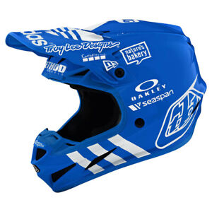 NEW Limited Edition Troy Lee Designs SE4 Composite Adidas Blue XL MX Helmet TLD