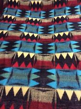 Genuine Retro 1960's Vintage Tetem Patterned Single Blanket Holland
