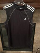 Adidas Shirt Tank Mens Large Black