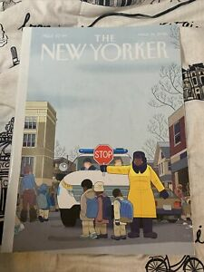The New Yorker Magazine March 14 2016 Special Issue Crosswalk Stop by Chris Ware
