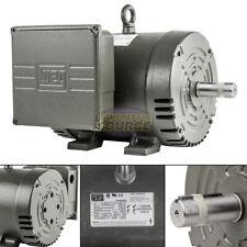 75 Hp Single Phase Electric Motor 184t Frame Odp 3510 Rpm 208 230 Volts Weg