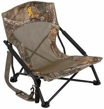 Camo Hunting Chair Blind Folding Seat Camping Outdoor Turkey Back Pack Portable