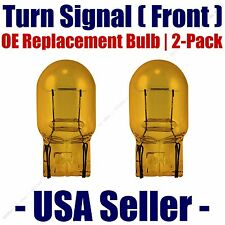Front Turn Signal/Blinker Light Bulb 2pk Fits Listed Mazda Vehicles - 7440NA