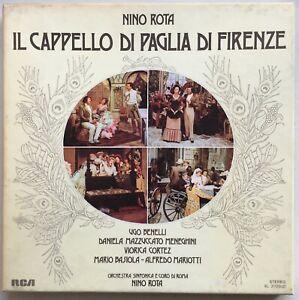 NINO ROTA Il Cappello Di Paglia Di Firenze 2LP Box w/ Booklet 1975 RCA RED SEAL