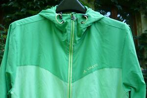 VAUDE  Jacke mit Kapuze FISK Jacket Outdoor Wandern Biken M grün