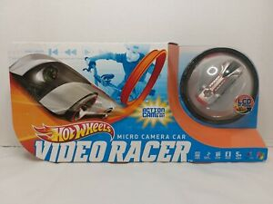 Hot Wheels 2012 Video Racer Micro Action Camera Car With LCD Screen