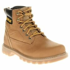 """CAT Low Heel 0.5-1.5"""" Lace Up Boots for Women"""