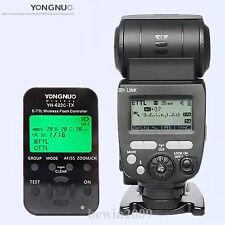 Yongnuo TTL YN685 HSS 1/8000 Flash Speedlite + YN622CTX Flash trigger for Canon