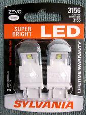 Sylvania Zevo Super Bright White 3156 3155 LED 12v 1.7w  - 2 NEW Bulbs