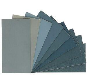 Micro-Mesh - Abrasive Polishing Cloth Sheets - 9 Grades & 7 Sizes Available