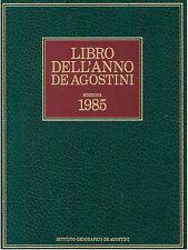 ISTITUTO GEOGRAFICO DE AGOSTINI MILIONE LIBRO DELL'ANNO 1985 DE AGOSTINI 1985