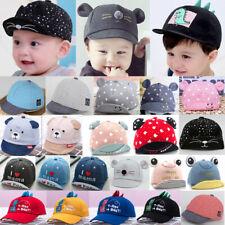 Baby Sun Hat Toddler Kid Girl Boy Cartoon Baseball Cap Summer Cute Visor Caps