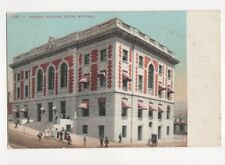 Federal Building Butte Montana Vintage Postcard USA 512a
