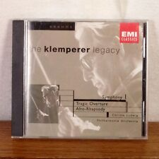 The Klemperer Legacy Brahms CD Album EMI ART playgraded M-
