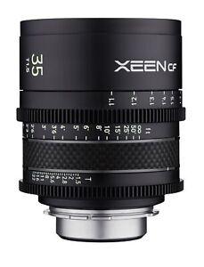 XEEN CF 35mm T1.5 Wide Angle Pro Cinema Lens (Canon EF)