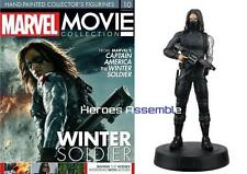 MARVEL MOVIE COLLECTION #10 WINTER SOLDIER FIGURINE MAGAZINE EAGLEMOSS NEW 8 9